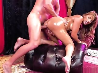 Cougar Dancer Mercedes Carrera Gets A Hot Ass Fucking Fuck