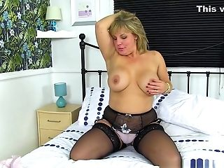 English Cougar Danielle Is Ready For Naughtiness