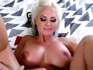 Blonde Cougar With Big Boobies Alena Croft Gets Pounded