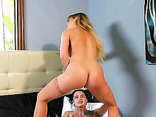 Fairly Bootyful Sexpot Cherie Deville Gets Arched Over And Fucked Rear End