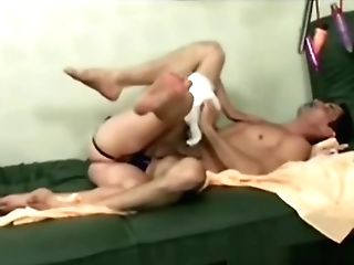 Step Mom Uses Strap-on To Bang Stud In Nappy