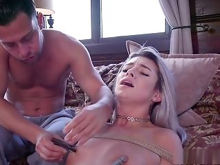 Big-chested Step Mom Gives Rectal Training To Teenager
