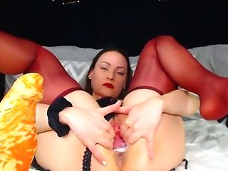 Adalynnx - Thick Bad Dragon Fuck Stick Spreading Fuckbox