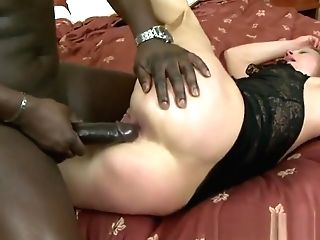 Blonde Matures Gets Interracial Rectal And A Facial Cumshot