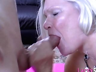 Lacey Starlet Spitroasted In Threesome