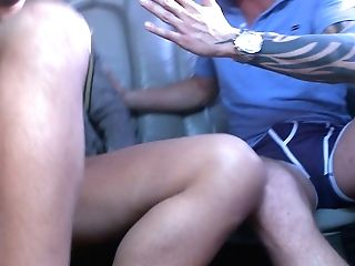 Gonzo Orgy In Van With Candy Alexa Dominno Honey Demon Keiran Lee Scott Fucks