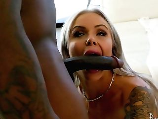 Hot Blooded German Mummy Nina Elle Is Having Crazy Lovemaking Joy With Black Paramour