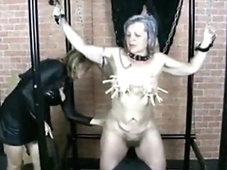 Old Sexy Babysitter Is Kneaded By Horny Woman