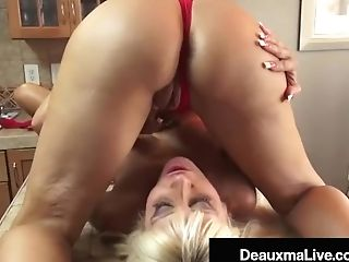 Horny Cougars Deauxma & Kasey Storm Eat Their Cunt Cookies!