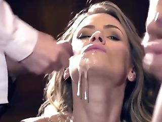 Claire Castel Jizm In Mouth And Facial Cumshot Compilation