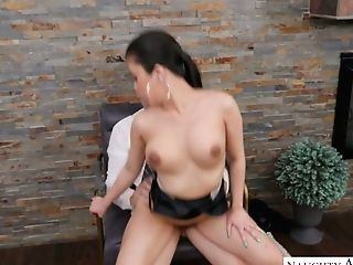 Horny Chief Can't Stand Against Fucking Jaw Ripping Off Asian Assistant Jade Kush