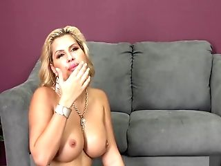Savanna Puts Those Phat Tits To Work While She Has Fucky-fucky