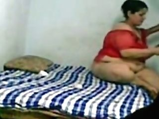 Fat Indian Chick In Crimson Sundress Wants To Be Fucked Hard