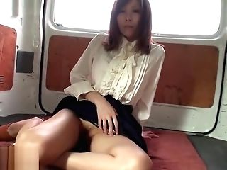 Chihiro Akino Shows Cooter In The Open Air Two - Caribbeancom