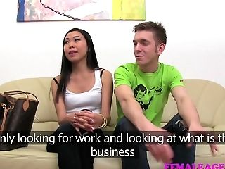 Femaleagent Hot Asian Enjoyments Mummy Then Fucks